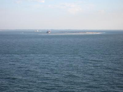 Opspuiten Tweede Maasvlakte