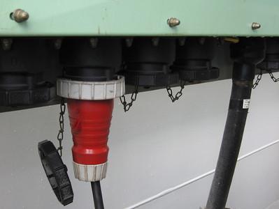 Gebruikt 440 volt reeferaansluiting