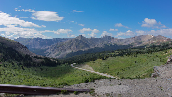 Eastern slope of Continental Divide at Cottonwood Pass