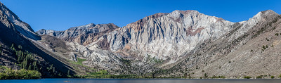 Beautiful colors in the mountains behind Convict Lake