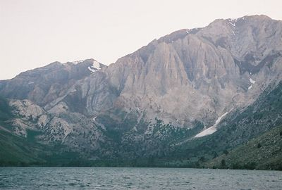 7/7/05 Late afternoon at Convict Lake. Inyo National Forest, Eastern Sierras, Mono County, CA