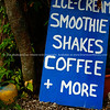 "Refreshments sign, leaning against a tree at Muri Beach, Cook Islands.<br />  Please preview book ""Cook Islands"", above.  <a href=""http://www.blurb.com/b/1907535-cook-islands"">http://www.blurb.com/b/1907535-cook-islands</a>"