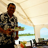 "Sights of the Cook Islands. Tropical paradise in the south Pacific.<br /> Charlie provides the service with a characteristic smile.<br /> Model released; no, for editorial & personal use. Please preview book ""Cook Islands"", above.  <a href=""http://www.blurb.com/b/1907535-cook-islands"">http://www.blurb.com/b/1907535-cook-islands</a>"