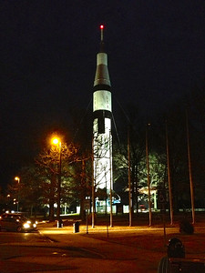 The Saturn 224 foot IB Rocket, was built here in Northern Alabama.