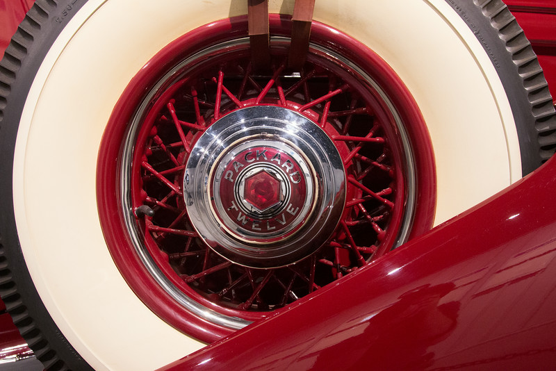 Packard Twelve -- Northeast Classic Car Museum, Norwich, NY, June 2014