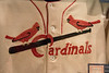 Detail of Dizzy Dean's 1934 Cardinals uniform --  A trip to the Baseball Hall of Fame, Cooperstown, NY, June 2014