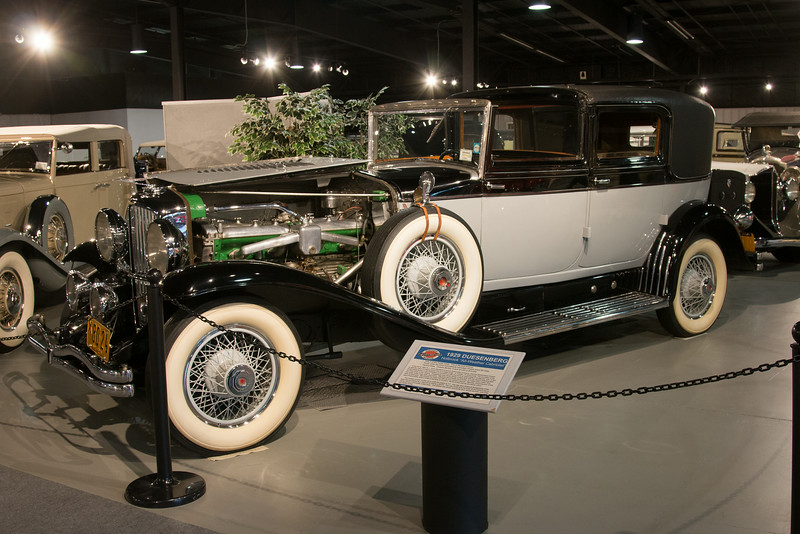"1929 Duesenberg Holbrook ""All-Weather Cabriolet"" --Northeast Classic Car Museum, Norwich, NY, June 2014"