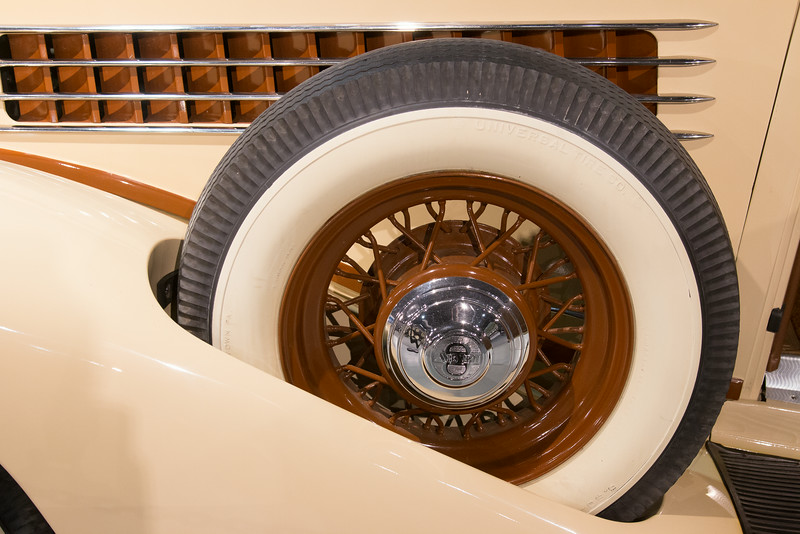 1936 Auburn Model 8-852 Cabriolet -- Northeast Classic Car Museum, Norwich, NY, June 2014
