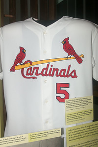 Albert Pujols 2001 rookie year Cardinals jersey -- A trip to the Baseball Hall of Fame, Cooperstown, NY, June 2014