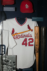 Bruce Sutter's Cardinals jersey (1982 World Series) -- A trip to the Baseball Hall of Fame, Cooperstown, NY, June 2014