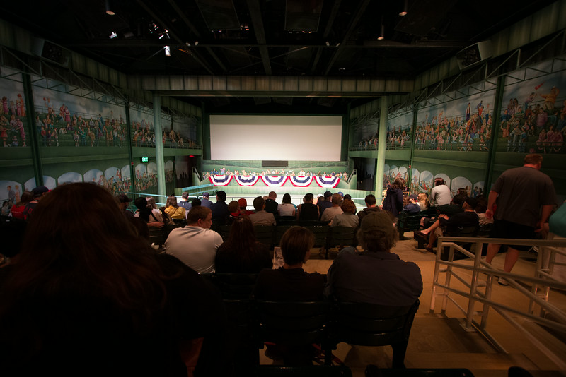 The Grandstand Theater -- A trip to the Baseball Hall of Fame, Cooperstown, NY, June 2014