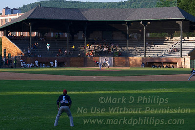 Cooperstown Hawkeyes game on July 3 against the Elmira Pioneers at Doubleday Field in Cooperstown, New York