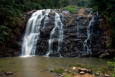 Near Coorg, located at a distance of about 9km from the town of Madikeri is the Abbey Falls. Nestled amidst private coffee plantations, the Abbey Falls provide a striking contrast to the hustle bustle of Coorg. The cascading water is very invitig. A narrow road winding through the green and dense foliage of surrounding coffee plantations leads to the falls which is a popular picnic destination.