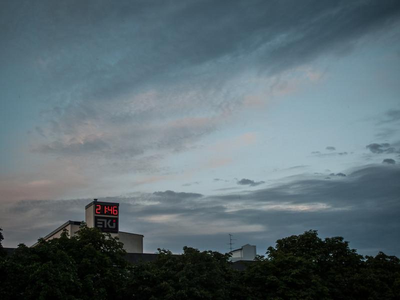 Næsten sunset
