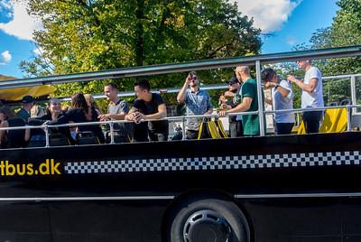 Copenhagen, Denmark, Street Scenes, Public Bus