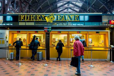 Copenhagen, Denmark, Scenes, Inside, Central Train Station