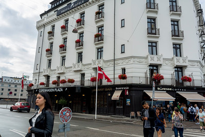 Copenhagen, Denmark, Tourist Hotel, Copenhagen Plaza, Outside