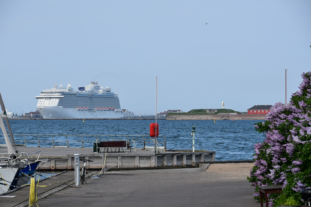 In port at Copenhagen