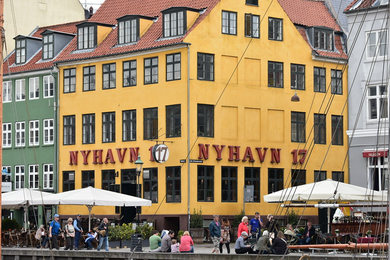 Nyhavn district on Canal
