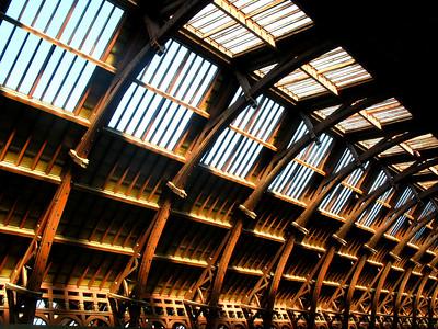 Roof detail of Copenhagen's Central Station.