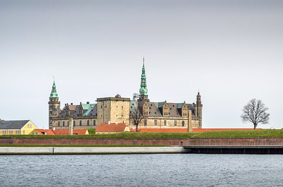 Kronborg Castle (Elsinore), home of Hamlet