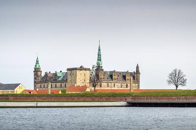 Kronborg Castle (Elsinore), home of Hamlet