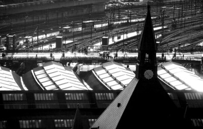 Copenhagen's central railway station.