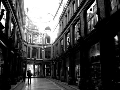 Pedestrian alley in Copenhagen.