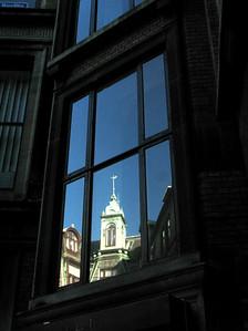 Copenhagen Reflections .... (aka 'I may be old but I mirror the world beautifully!')