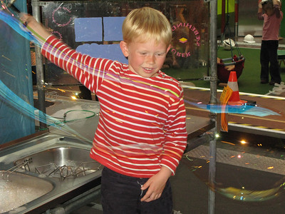 "Child playing (& learning) at Copenhagen's excellent ""Experimentarium"" ."