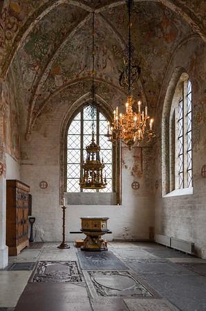 Detail in Lund Cathedral, Sweden