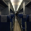 Inside shot of the highspeed train.<br /> Stylish, straightforward, confortable..