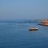 Entering Corinto Harbor