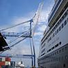 Crane Prepares to Lift the Rotterdam!