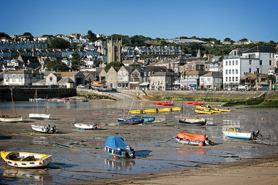 The Harbour with the Tide Out, St Ives