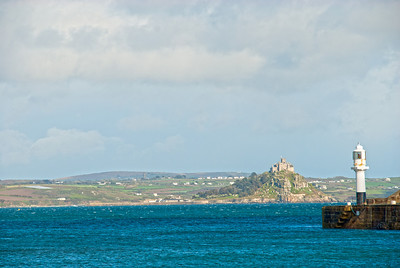 Mounts Bay and Lighthouse