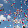 May Pole-Padstow-Obby Oss day-Cornwall-UK