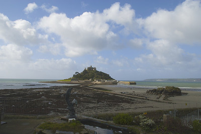 St Michael's Mount, as shadows change the view