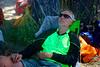 Bill Oswalt relaxing.