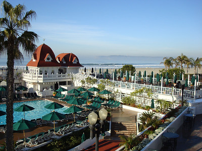 Beautiful Hotel Coronado near San Diego in January 2008.