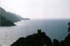 Porto, la zona oeste de la isla con acantilados al borde del mar