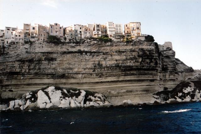 Bonifaccio desde el mar