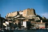 Castillo de Bonifaccio desde el puerto