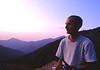Joseph despues de acabar una larga jornada de montaña