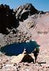 Pequeño lago en el ascenso a Monte Cintu, el punto mas alto de Corcega