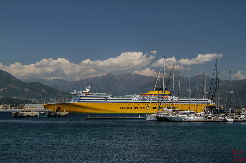 How to get to Corsica by ferry