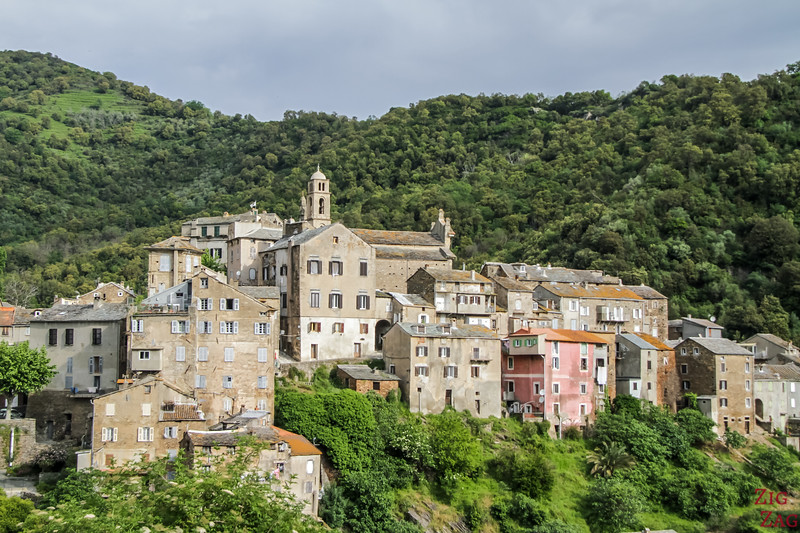 Corsican Villages in the mountains - Vescovato