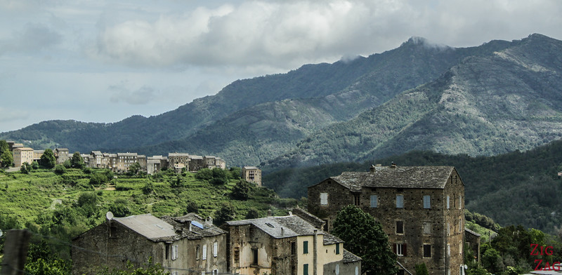 Corsican Villages in the mountains - Piedicroce