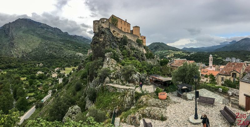 5 Best viewpoints in Corsica - Corte