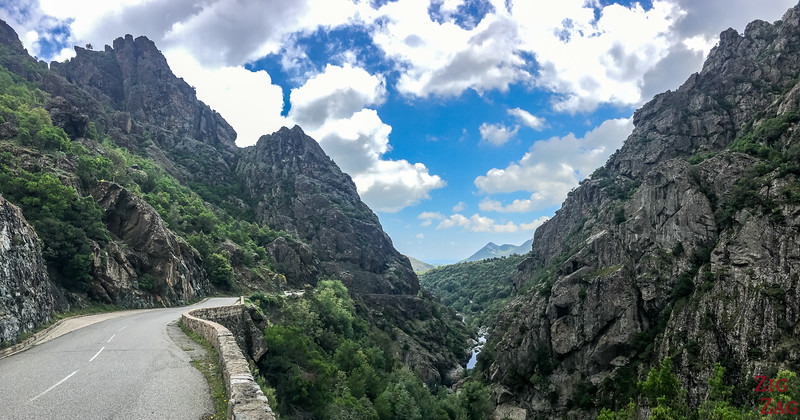 What to see in Corsica - Inzecca gorge